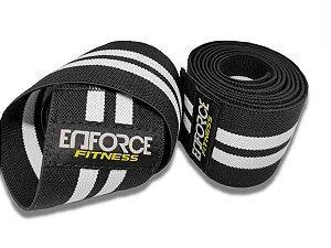 Faixa Elástica de Joelho para Musculação - Enforce Fitness