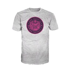 Camiseta Dude Coffee Logo Rosa (Clara)