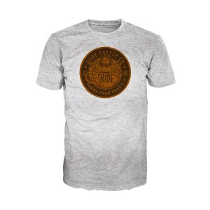 Camiseta Dude Coffee Logo Marrom
