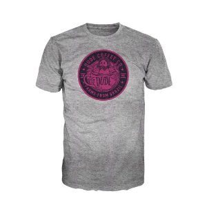 Camiseta Dude Coffee Logo Rosa (Escura)