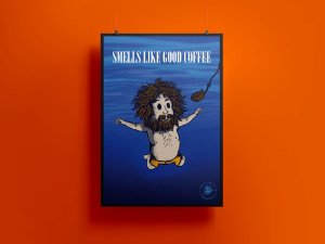 Poster/Quadro Smeels Like Good Coffee