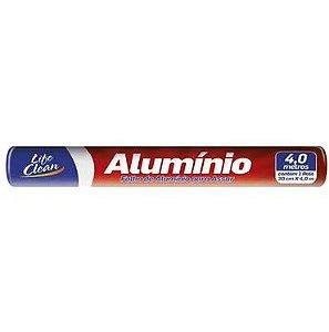 Papel Alumínio 30 cm x 4 mts - Life Clean