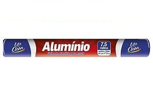 Papel Alumínio 30 cm x 7,5 mts - Life Clean