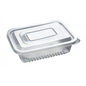Pote Retangular para Marmita Fitness Freezer e Micro-ondas 750 ml PP3 - Starpack