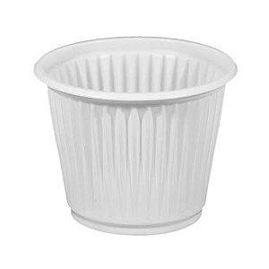 Copo Plástico Descartável Branco 50 ml - Cristalcopo