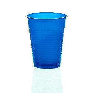 Copo Plástico Descartável Azul Escuro 200 ml - Bello Copo