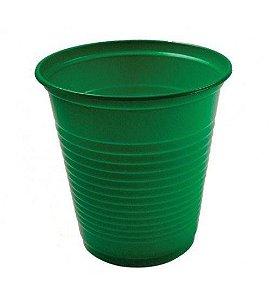 Copo Plástico Descartável Verde Escuro 200 ml - Bello Copo