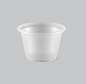 Pote Plástico Liso Copaza 100ml P-100