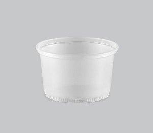 Pote Plástico Liso Copaza 200ml P-13