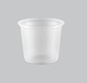 Pote Plástico Liso Copaza 250ml P-07