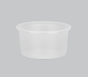 Pote Plástico Liso Copaza 300ml P-14