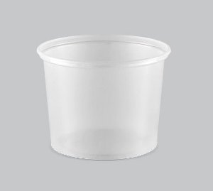 Pote Plástico Liso Copaza 400ml P-15