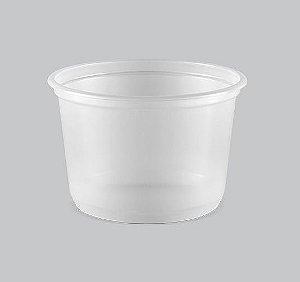 Pote Plástico Liso Copaza 600ml P-09