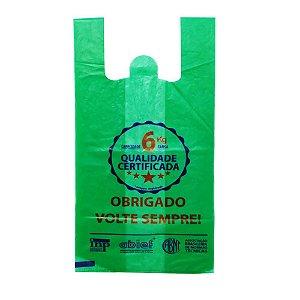 Sacola Verde Volte Sempre 38x50 - 2,3kg