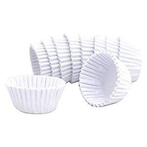 Forminha de Papel Branca N°3 - 1000 unidades