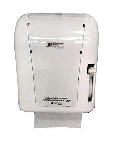 Dispenser de Papel Toalha Bobina com Alavanca Branco