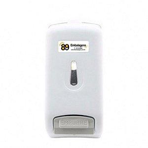 Dispenser de Sabonete Líquido Branco 800ml Trilha