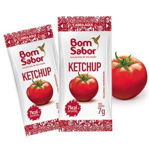 Sachê Ketchup Bom Sabor 7grs - 182 unidades