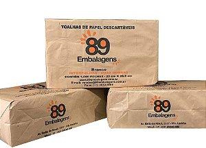 Interfolha Branco 20x20,5 89 Embalagens - 1000 unidades