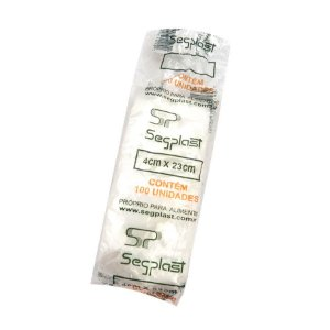 Saco para Gelinho Segplast - 100 unidades