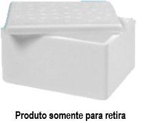 Caixa Térmica de Isopor 0,8 Litros - Goldpac