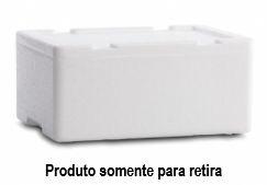 Caixa Térmica de isopor Pescado 10 Litros - Goldpac