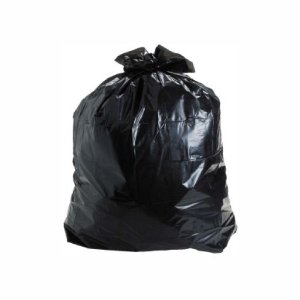 Saco de Lixo Preto Reforçado 20 litros c/ 5 kilos