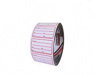 Etiqueta Validade 30x50 c/ 333 unidades