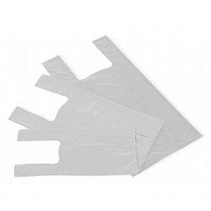 Sacola Plástica Branca Virgem - Medidas Variadas