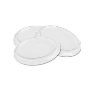 Tampa para Pote Plástico Descartável Transparente 100 ml Copomais