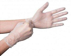 Luva de Vinil com Pó para Procedimento não Cirúrgico - P/M/G - EmbaKeep
