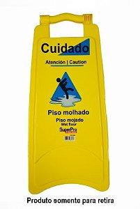 Placa Sinalizadora Piso Molhado - Bettanin