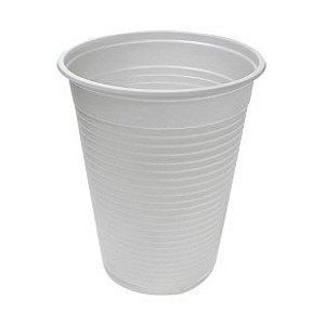Copo Plástico Descartável Branco 180 ml - Real