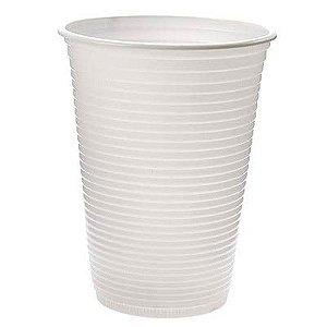 Copo Plástico Descartável Branco 200 ml - Real