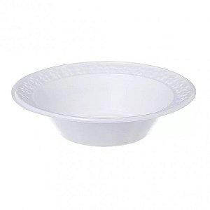 Prato Plástico Descartável 15 cm Fundo Branco - Real