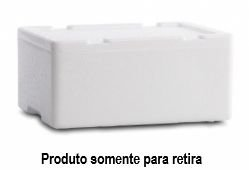 Caixa Térmica de isopor Pescado 15 Litros - Goldpac