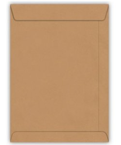 Envelope Kraft Natural com 10 unidades - 176mm x 250mm