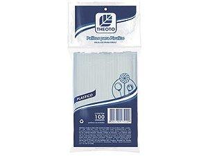 Palito Pirulito Plástico c/100 unidades - THEOTO
