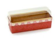 Embalagem Forneável para Bolo Inglês - Rosa