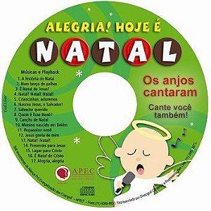 ALEGRIA! HOJE É NATAL! CANTATA COM PLAYBACK E PARTITURA APEC