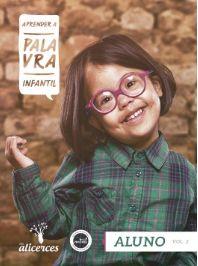 APRENDER A PALAVRA INFANTIL ALUNO A BÍBLIA É A PALAVRA DE DEUS ALICERCES VOL 2 ECE 4 ANOS