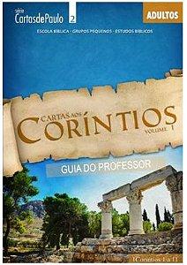CARTAS AOS CORÍNTIOS PROFESSOR VOL 1 ADULTOS ECE
