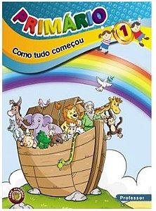 COMO TUDO COMEÇOU PROFESSOR PRIMÁRIO VOL 1 ECE