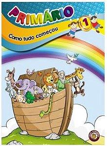 COMO TUDO COMEÇOU PRIMÁRIO ALUNO VOL 1 ECE