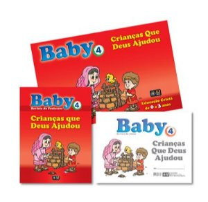 CRIANÇAS QUE DEUS AJUDOU KIT BABY VOL 4 Z3