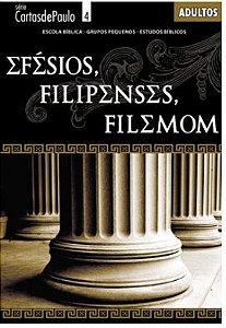 EFÉSIOS FILIPENSES FILEMON ALUNO ADULTOS ECE