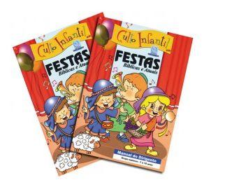 FESTAS BÍBLICAS E ATUAIS KIT PROFESSOR CULTO INFANTIL VOL 11 ECE