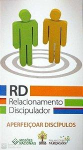 APERFEIÇOAR DISCÍPULOS RD CARTÃO RELACIONAMENTO DISCIPULADOR JMN