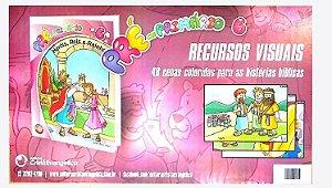 HERÓIS REIS E RAINHAS CARTAZ A3 PRÉ-PRIMÁRIO VOL 6 ECE