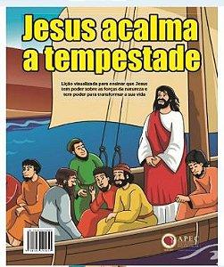 JESUS ACALMA A TEMPESTADE